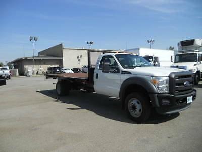 FORD 450 16FT Flatbed Truck stake bed gmc chevy 350 F550 isuzu hino dodge gas