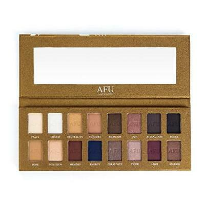 Eyeshadow Palette Makeup Powder Matte Shimmer 16 Colors Natural Nudes Waterproof