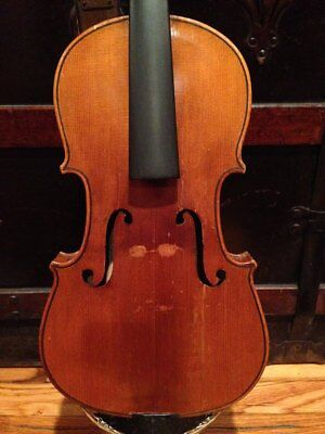 Old Violin for Restoration, Labeled Gaetano Polastri, Full Size