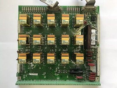 MCE Motion Control Engneering Board HC-RBH Rev. 1-8 With 15 New 120VAC Relays.