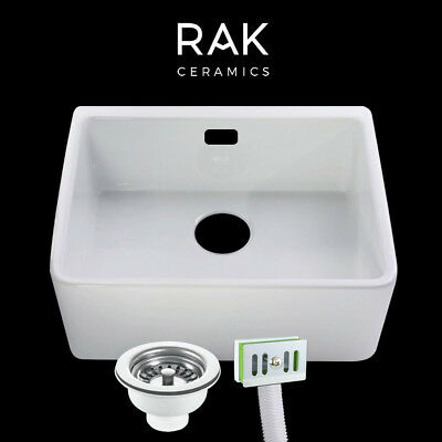 RAK Grooved Ceramic Sink Drainer 540x460x40mm for Belfast Butler Kitchen Sink