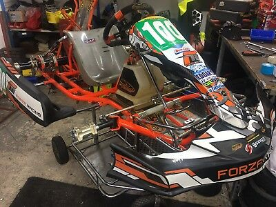 Go Kart Rotax Max Rolling Chassis 50000 Picclick Uk
