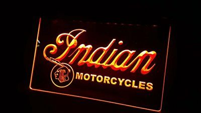 INDIAN MOTORCYCLES NEON 3D Neonschild LED Neu Schild