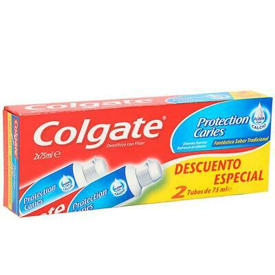 Colgate Protection Caries Dentifricio 2x75ml