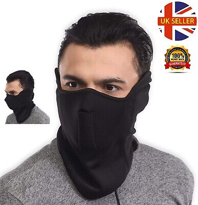 Anti Dust Smog Pollution FACE MASK Balaclava Winter Neck Warmer Thermal Facemask