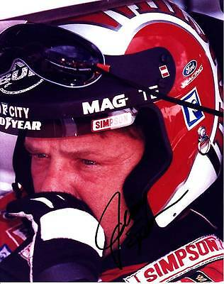 Jimmy Spencer Signed Autograph 8X10 Photo Picture Image Nascar