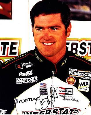 Bobby Labonte Signed Autograph 8X10 Photo Picture Image Nascar