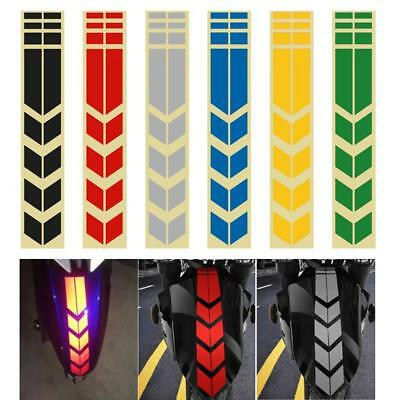 Reflective Motorcycle Gas Oil Fuel Tank Sticker Pad Protector Decal HF %