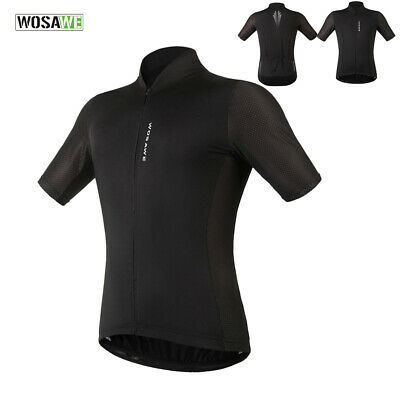 Clearance price Cycling Jersey Short Sleeve Brethable Full Zipper Bike Shirt Top