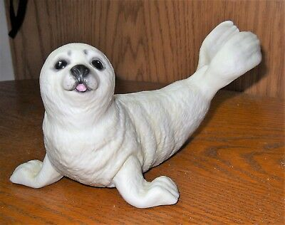 Brooks & Bentley Harp Seal Pup Porcelain Figurine