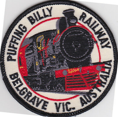 Puffing Billy Railway Belgrave Vic Australia Embroidered Patch