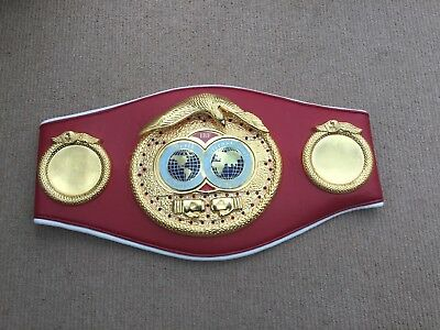 Ibf boxing belt Slight Marks Please Check Pictures