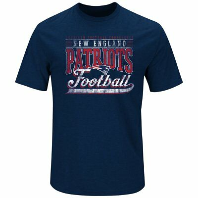 Majestic BALL CARRIER Shirt - New England Patriots navy