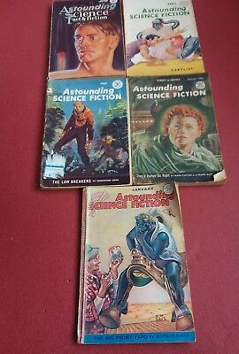 Vintage science fiction magazines 1940's & 1950's (148)