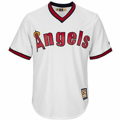Majestic Cooperstown Cool Base Jersey - Los Angeles Angels