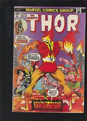 Thor #225 1st Appearance of Firelord! Galactus & Destroyer Appearance! Hercules!
