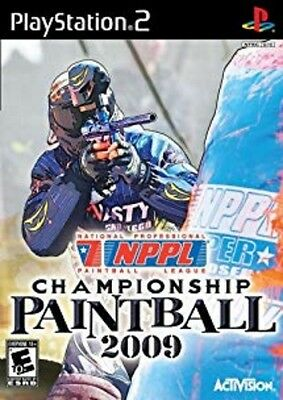 NPPL Championship Paintball 2009 (Sony PlayStation 2, 2008) Complete