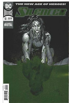 Silencer #10 Foil Cover DC comic 1st Print 2018 new Dark Nights Metal