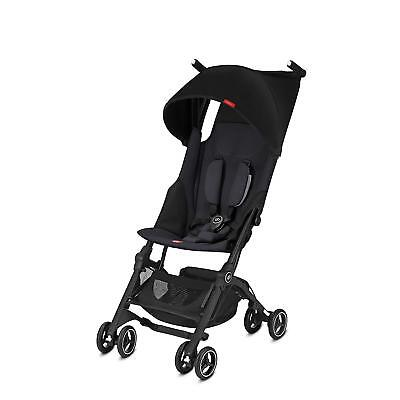 2018 GB Pockit Plus Lightweight Stroller - Reclines - Satin Black