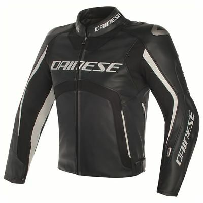 Dainese Misano D-Air Motorcycle Jacket Blk/Wh (rrp £1499.95)**Now £799.99**