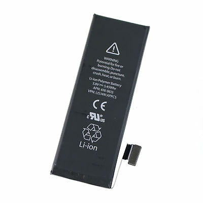 New Replacement Battery 1440mAh for iPhone 5 5G Part Number 616-0613 3.8V Black
