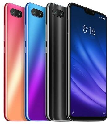 "Xiaomi Mi 8 Lite 128GB (FACTORY UNLOCKED) 6.26"" 6GB RAM Black Blue (Global)"