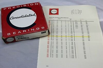 2921 Consolidated Thrust Ball Bearing SKF MRC