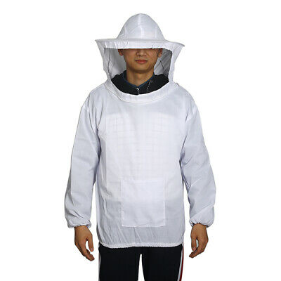 Size 2XL Beekeeping Jacket Mask Beekeeper Clothing Anti-bee Outerwear with Hat