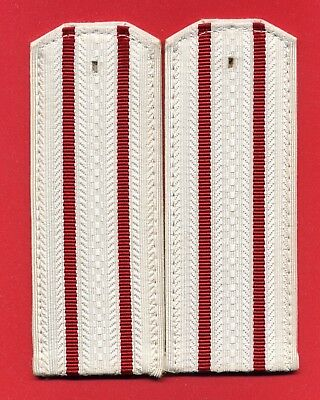 Russian Soviet White Shoulder boards. Artillery, Armored troops arr. 1969' s