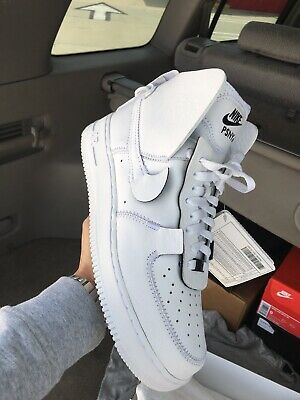wholesale dealer 77caf 335ee Nike Air Force 1 High x PSNY AO9292-002 White Size Men 9