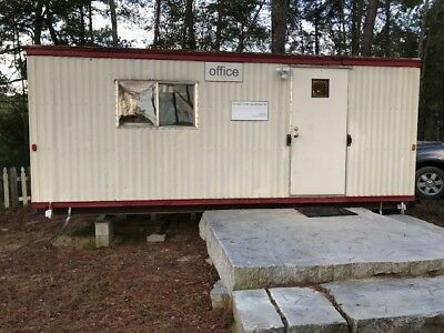 Mobile Modular Construction Office Trailer 8'X 24'.