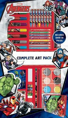 Avengers Complete Art Pack 58pc Arts /& Crafts