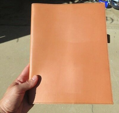 """RARE Filson Horween Leather Notebook Journal Cover Made in the USA 11.5"""" x 8.75"""""""