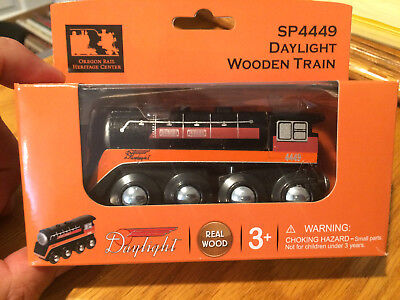 Custom Southern Pacific SP 4449 Wooden Daylight train Brio Thomas Chuggington
