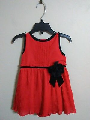 477bf7355 KATE SPADE LITTLE Girls Toddlers 4T Red Christmas Holiday Party ...