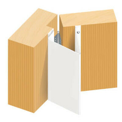 Door Safety Finger Guard Front Opening White Pack 2-3-4- 5  British Made BS ISO