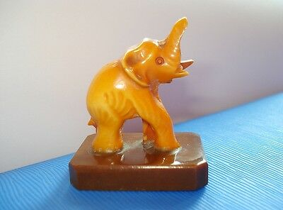 Art Deco Elephant Bakelite Figure Figurine Simichrome Tested