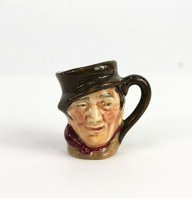 WOW Outstanding Royal Doulton Vintage Tiny Character Toby Jug SAM WELLER D6147
