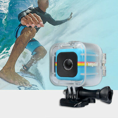 FJ- Waterproof Case Underwater Protective Housing for Polaroid Cube + Cube Exoti