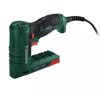 Parkside Electric Nailer/stapler Phet 15 B1 Quick And Easy Attachment