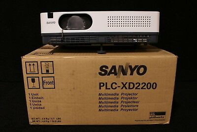 Sanyo PLC-XD2200 LCD Projector 64 HRS - Unit #2