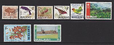 Some stamps of Malawi