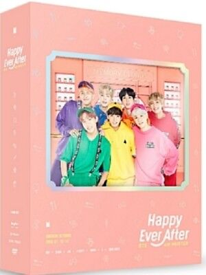 KPOP BTS 4th muster Happy Ever After DVD 3cd+Photobook+Photocard+Free shipping