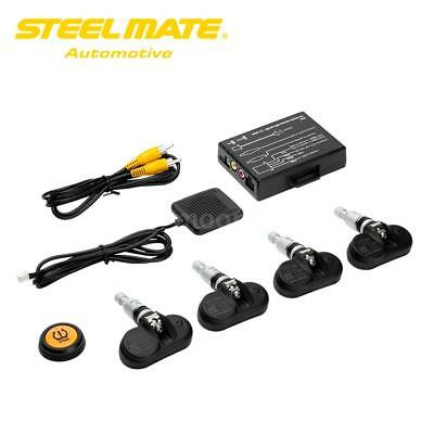 Steelmate TP-05 Tire Pressure Monitoring System TPMS for in-dash A/V F4Y7