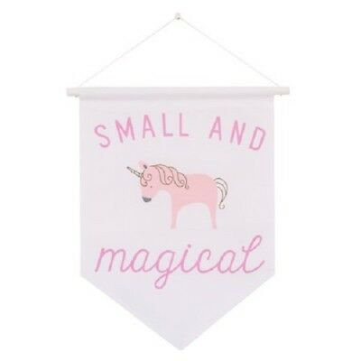 Child of Mine Princess Unicorn Decorative hanging Wall Pennant Banner