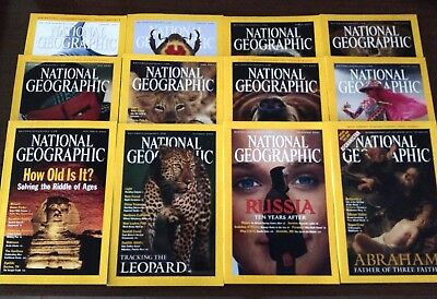 National Geographic Magazines - 2001 - American Edition