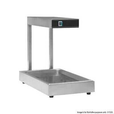 Commercial infrared food/chip warmer/scuttle/Dump