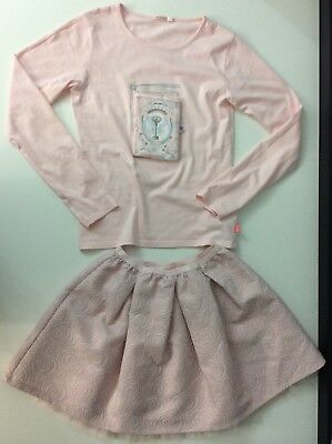 Billieblush Girls Outfit Set Skirt & Top Age 12 Years Size 150cm Vgc