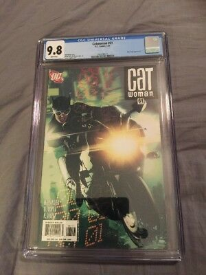 Cat woman Catwoman 61 CGC 9.8 Adam Hughes Cover Awesome Book!!!!
