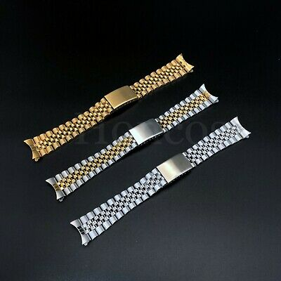 19 20 21 MM Silver President Jubilee Watch Band Bracelet fits for Invicta Watch
